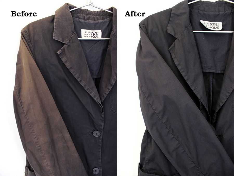 洋服の日焼けを直す方法