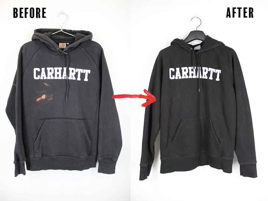 カーハート(Carhartt)の染め替え事例一覧
